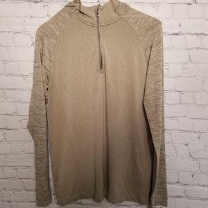 Lululemon Athletica 1/4 zip lightweight hoodie